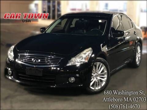 2012 Infiniti G37 Sedan for sale at Car Town USA in Attleboro MA