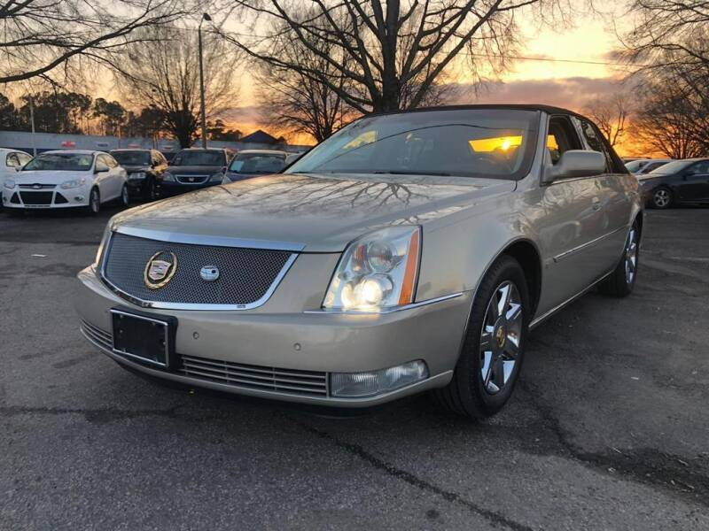 2007 Cadillac DTS for sale at Atlantic Auto Sales in Garner NC