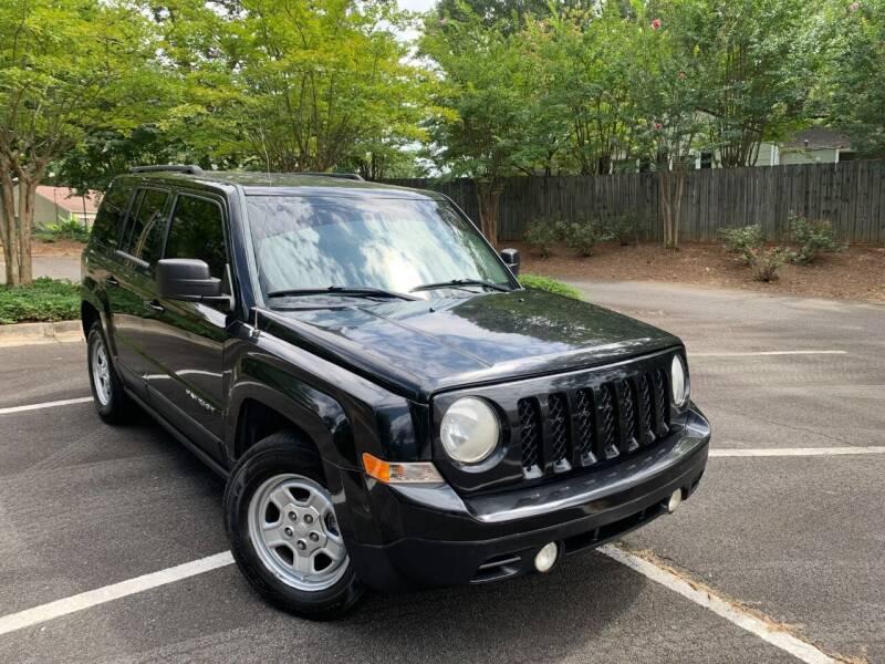 2011 Jeep Patriot for sale at CORTEZ AUTO SALES INC in Marietta GA