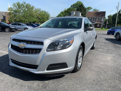 2013 Chevrolet Malibu for sale at 1NCE DRIVEN in Easton PA
