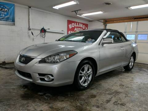 2008 Toyota Camry Solara for sale at BOLLING'S AUTO in Bristol TN