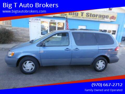 2002 Toyota Sienna for sale at Big T Auto Brokers in Loveland CO