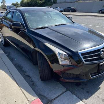 2013 Cadillac ATS for sale at E and M Auto Sales in Bloomington CA