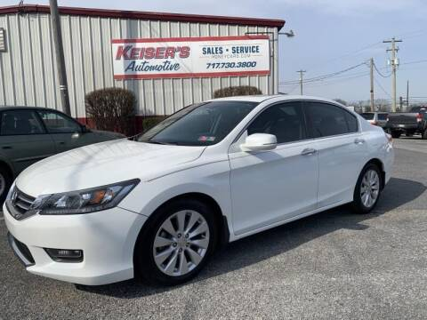 2014 Honda Accord for sale at Keisers Automotive in Camp Hill PA