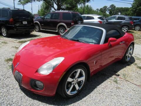 2008 Pontiac Solstice for sale at Dallas Auto Mart in Dallas GA