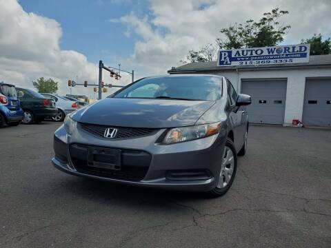 2012 Honda Civic for sale at PA Auto World in Levittown PA