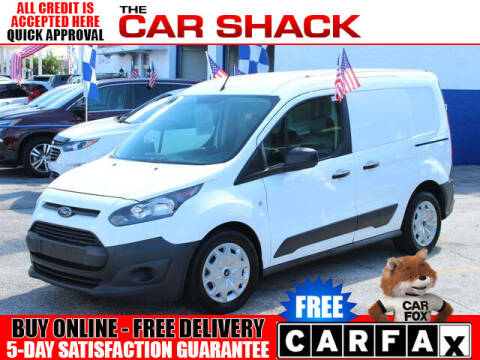 2017 Ford Transit Connect Cargo for sale at The Car Shack in Hialeah FL