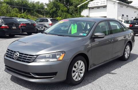 2015 Volkswagen Passat for sale at Bik's Auto Sales in Camp Hill PA