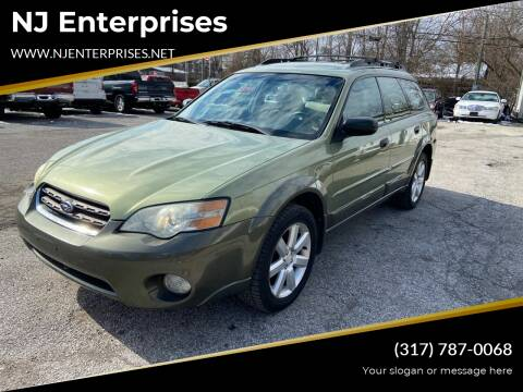 2006 Subaru Outback for sale at NJ Enterprises in Indianapolis IN