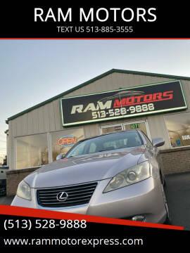 2007 Lexus ES 350 for sale at RAM MOTORS in Cincinnati OH