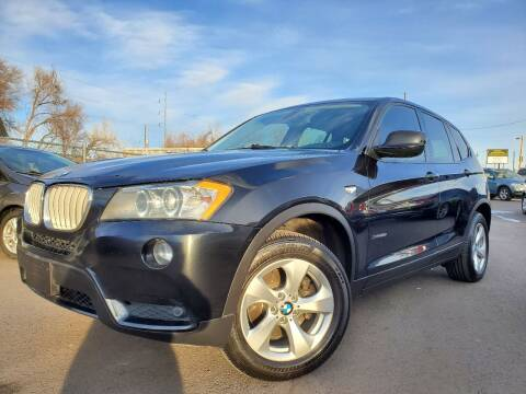 2012 BMW X3 for sale at LA Motors LLC in Denver CO