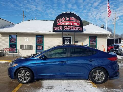 2018 Hyundai Elantra for sale at DICK'S MOTOR CO INC in Grand Island NE