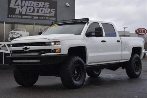 2016 Chevrolet Silverado 2500HD for sale at Landers Motors in Gresham OR
