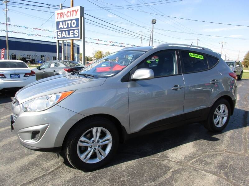 2011 Hyundai Tucson for sale at TRI CITY AUTO SALES LLC in Menasha WI
