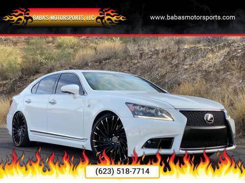 2014 Lexus LS 460 for sale at Baba's Motorsports, LLC in Phoenix AZ