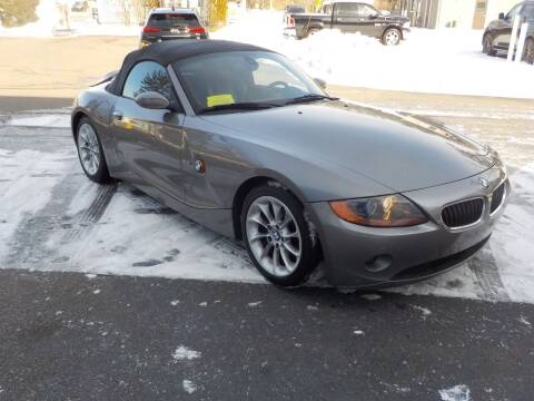 2004 BMW Z4 for sale at RTE 123 Village Auto Sales Inc. in Attleboro MA