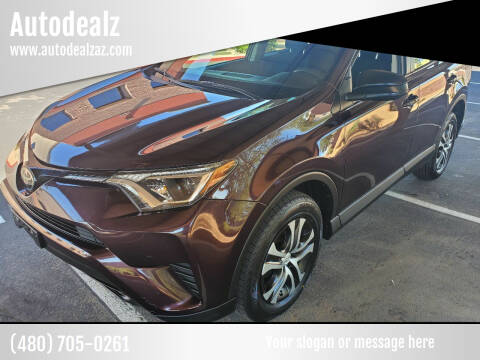 2018 Toyota RAV4 for sale at Autodealz in Tempe AZ