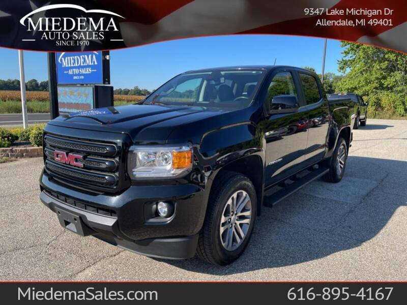2016 GMC Canyon for sale at Miedema Auto Sales in Allendale MI