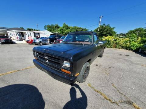 1987 Dodge RAM 150 for sale at Ford's Auto Sales in Kingsport TN