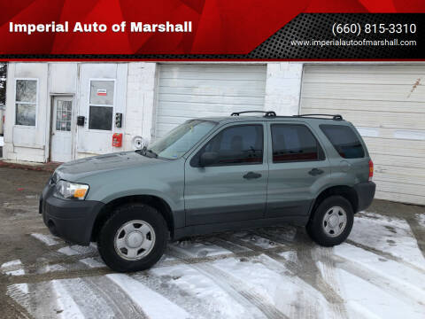 2007 Ford Escape for sale at Imperial Auto of Marshall - Imperial Auto Of Slater in Slater MO