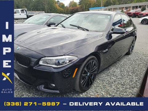 2014 BMW 5 Series for sale at Impex Auto Sales in Greensboro NC