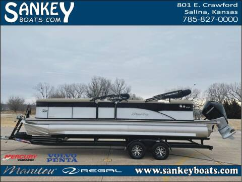 2021 Manitou 25 Oasis Bar SHP for sale at SankeyBoats.com in Salina KS