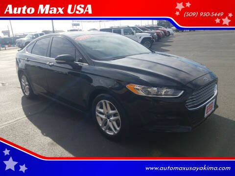 2015 Ford Fusion for sale at Auto Max USA in Yakima WA