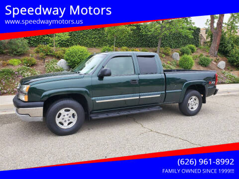 2003 Chevrolet Silverado 1500 for sale at Speedway Motors in Glendora CA