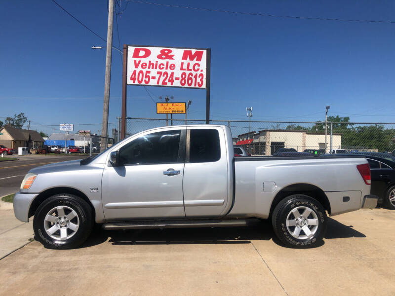 2004 Nissan Titan for sale at D & M Vehicle LLC in Oklahoma City OK