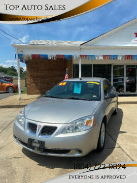 2008 Pontiac G6 for sale at Top Auto Sales in Petersburg VA