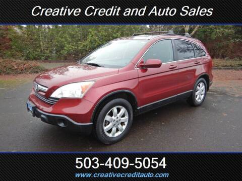 2009 Honda CR-V for sale at Creative Credit & Auto Sales in Salem OR