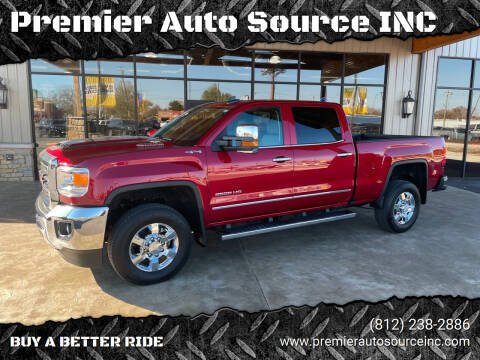 2019 GMC Sierra 2500HD for sale at Premier Auto Source INC in Terre Haute IN