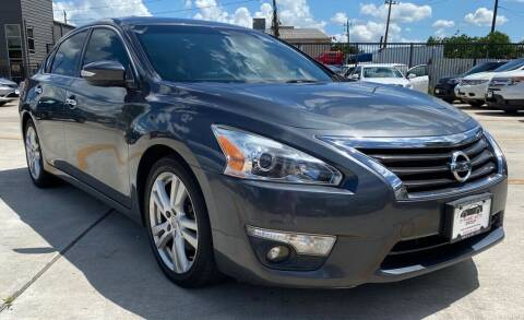 2013 Nissan Altima for sale at DYNAMIC AUTO GROUP in Houston TX