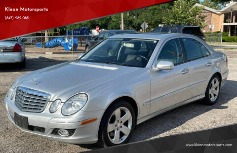 2007 Mercedes-Benz E-Class for sale at Klean Motorsports in Skokie IL