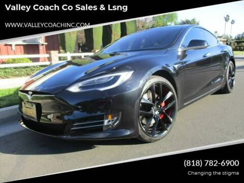 2018 Tesla Model S for sale at Valley Coach Co Sales & Lsng in Van Nuys CA