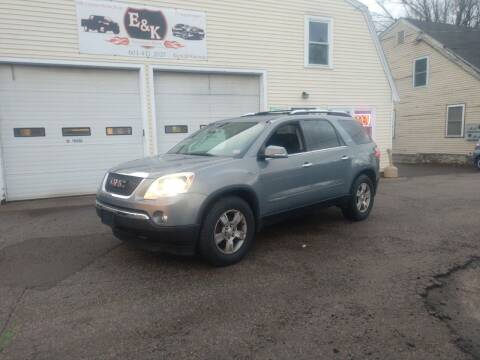 2008 GMC Acadia for sale at E & K Automotive in Derry NH
