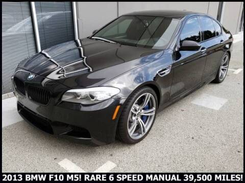 2013 BMW F10 M5 for sale at Classic Car Deals in Cadillac MI