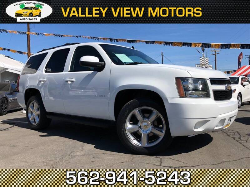 2011 Chevrolet Tahoe for sale at Valley View Motors in Whittier CA