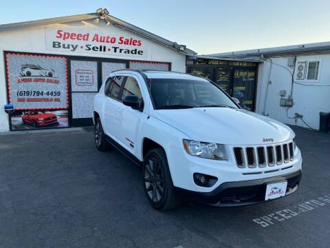2016 Jeep Compass for sale at Speed Auto Sales in El Cajon CA