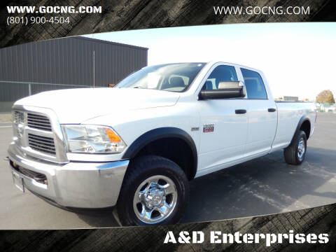 2012 RAM Ram Pickup 2500 for sale at A&D Enterprises in Spanish Fork UT