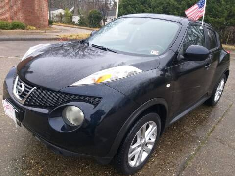 2012 Nissan JUKE for sale at Hilton Motors Inc. in Newport News VA