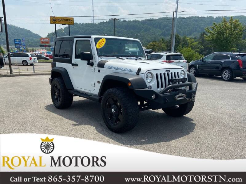 2014 Jeep Wrangler for sale at ROYAL MOTORS LLC in Knoxville TN