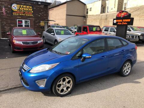 2011 Ford Fiesta for sale at STEEL TOWN PRE OWNED AUTO SALES in Weirton WV