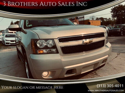 2010 Chevrolet Tahoe for sale at 3 Brothers Auto Sales Inc in Detroit MI