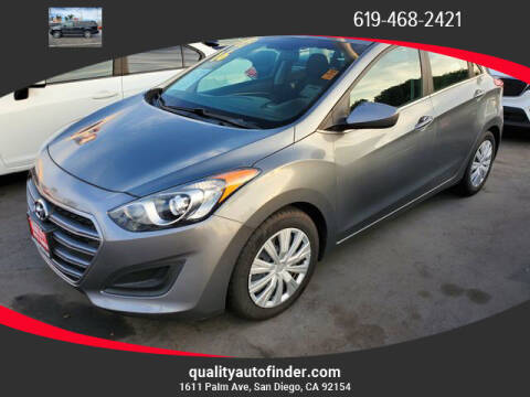 2016 Hyundai Elantra GT for sale at QUALITY AUTO FINDER in San Diego CA