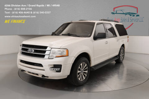 2015 Ford Expedition EL for sale at Elvis Auto Sales LLC in Grand Rapids MI