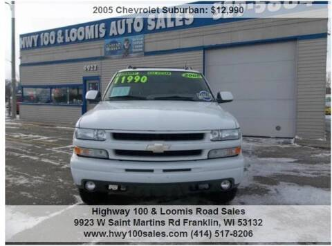 2005 Chevrolet Suburban for sale at Highway 100 & Loomis Road Sales in Franklin WI