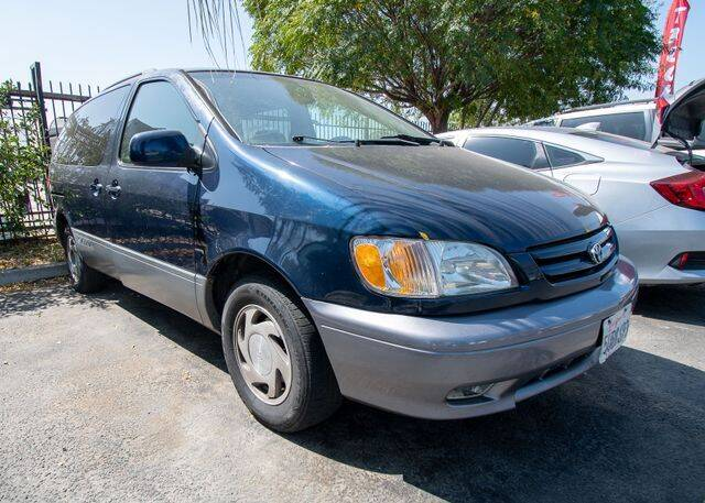 2001 Toyota Sienna for sale at GQC AUTO SALES in San Bernardino CA