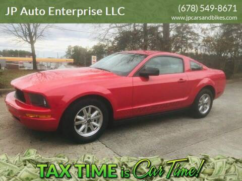 2008 Ford Mustang for sale at JP Auto Enterprise LLC in Duluth GA