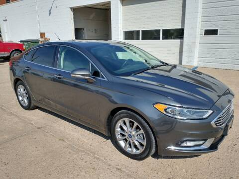 2017 Ford Fusion for sale at Apex Auto Sales in Coldwater KS